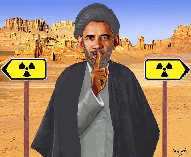 Barack obama ayatollah obama en iran