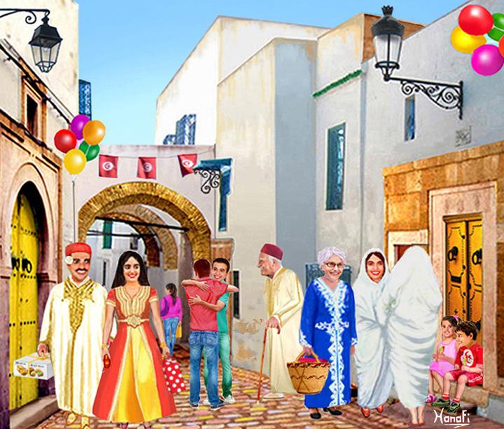 Pin aid el adha 2012 blog 1 amour de cuisine algerienne for Amour de cuisine chez soulef